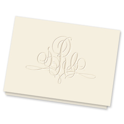 Paris Monogram Note - click to enlarge