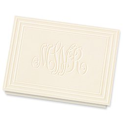 Classic Frame Monogram Notes - Click to see larger image
