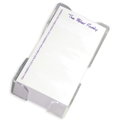 Family Pride List with CrystalClear Holder - click to enlarge
