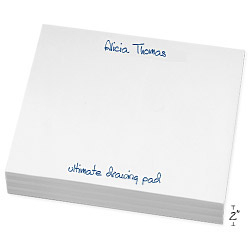Super Slab White Notepad - Click to see larger image